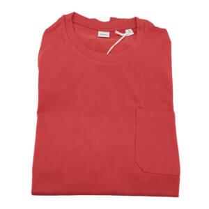 T-shirt Aspesi tinta unita corallo