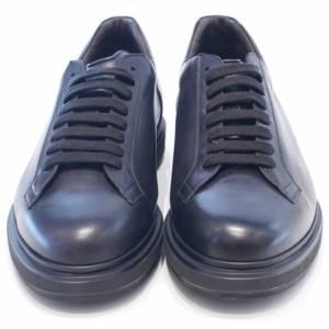 Sneakers Barrett in pelle nero