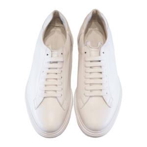 Sneakers Barrett in pelle bianco